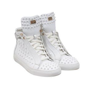 High Top Spiked Sneakers